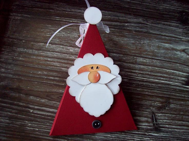 Tutorial paper box noel pinterest design fourrure - Bricolage de noel facile pour enfant ...