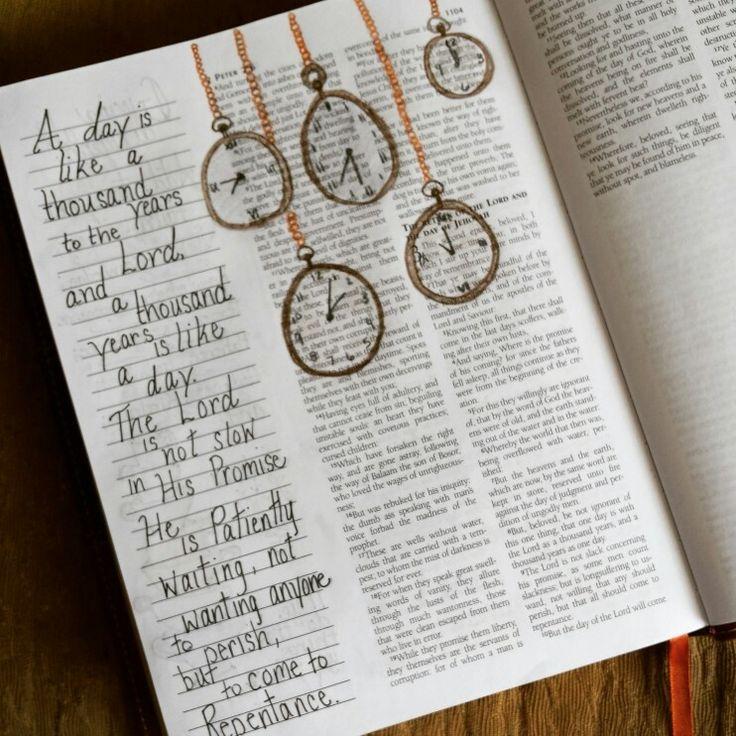 2 Peter Bible Journaling