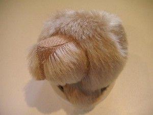 """Мишки Тедди. Мастер-класс """"Стрижка мордочки мишки Тедди"""". Фото 12."""