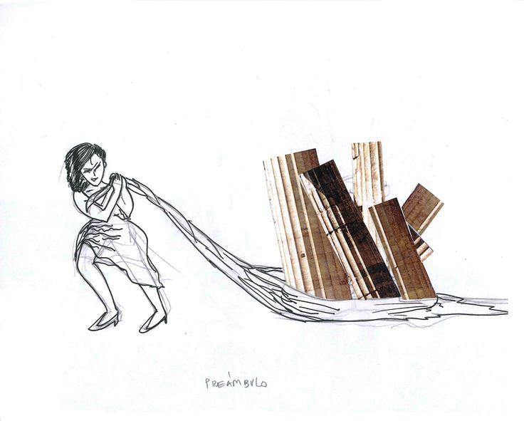 Collage Ilustración #1, por Eli Cárdenas.