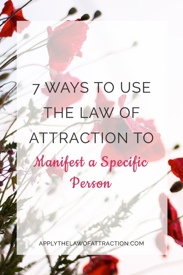 how to find love using the law of attraction At the end of the day, if your relationship doesn't work out, you can still use the law of attraction to find a new love in your life, take care.