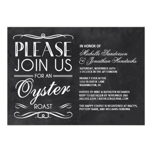 =>>Save on          Vintage Chalkboard Oyster Roast Invites           Vintage Chalkboard Oyster Roast Invites you will get best price offer lowest prices or diccount couponeHow to          Vintage Chalkboard Oyster Roast Invites Online Secure Check out Quick and Easy...Cleck link More >>> http://www.zazzle.com/vintage_chalkboard_oyster_roast_invites-161284983777210065?rf=238627982471231924&zbar=1&tc=terrest