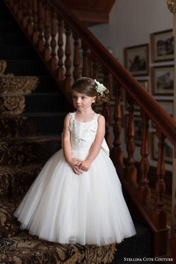 stellina cute couture 2015 2016 adorable designer baby toddler flower girl dress children attendant bridal party