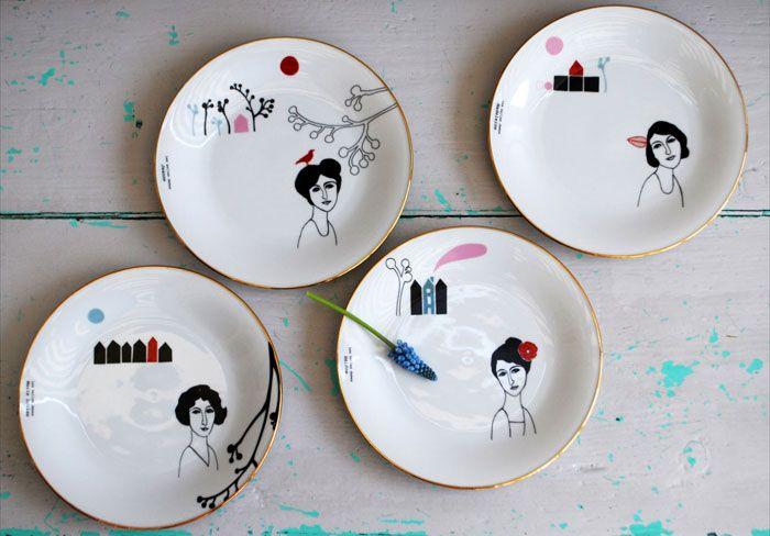 .Ceramic Plates, Versluis Ceramics Plates