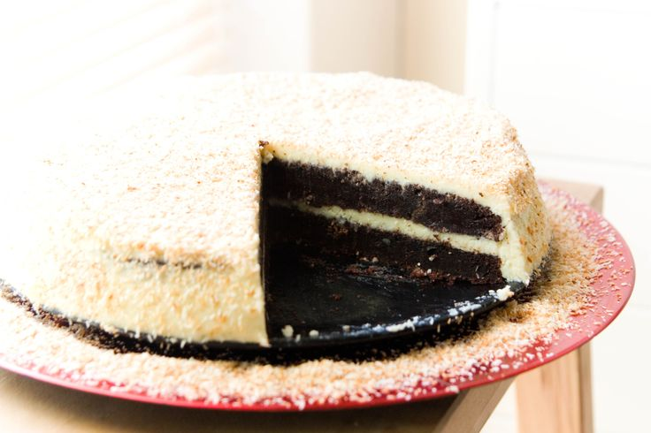 Recept: Chocolade kokos taart
