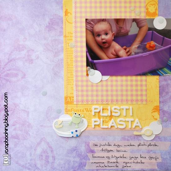 {Eu}scrapbooking: Plisti plasta