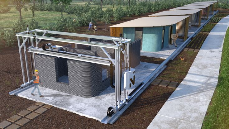 New Story und ICON planen Häuser aus dem 3D-Drucker für $ 4000