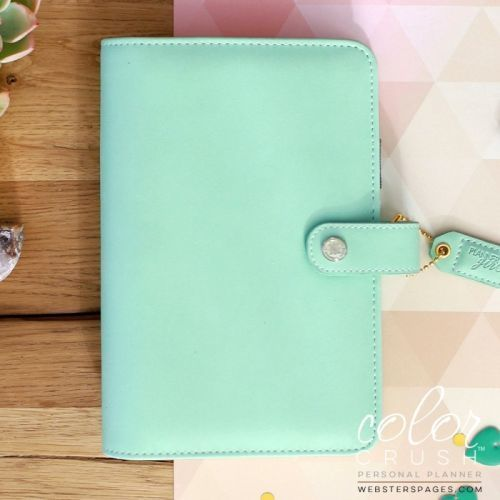W Pages Color Crush Personal Planner Mint