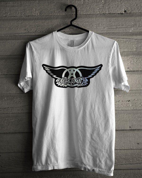 Aerosmith Band Logo Shirt | T-shirt Tees Tshirt Tanktop