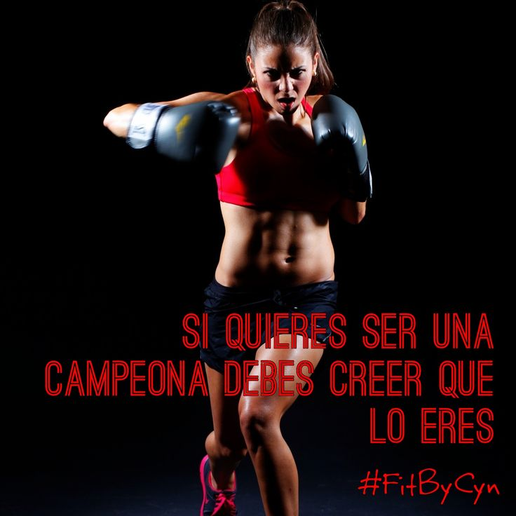 #FitByCyn #Frases #Tips #Quotes #Kickboxing #Campeona #Autoestima #Boxeo #Boxing #Fitness #Mujer #Woman #Women