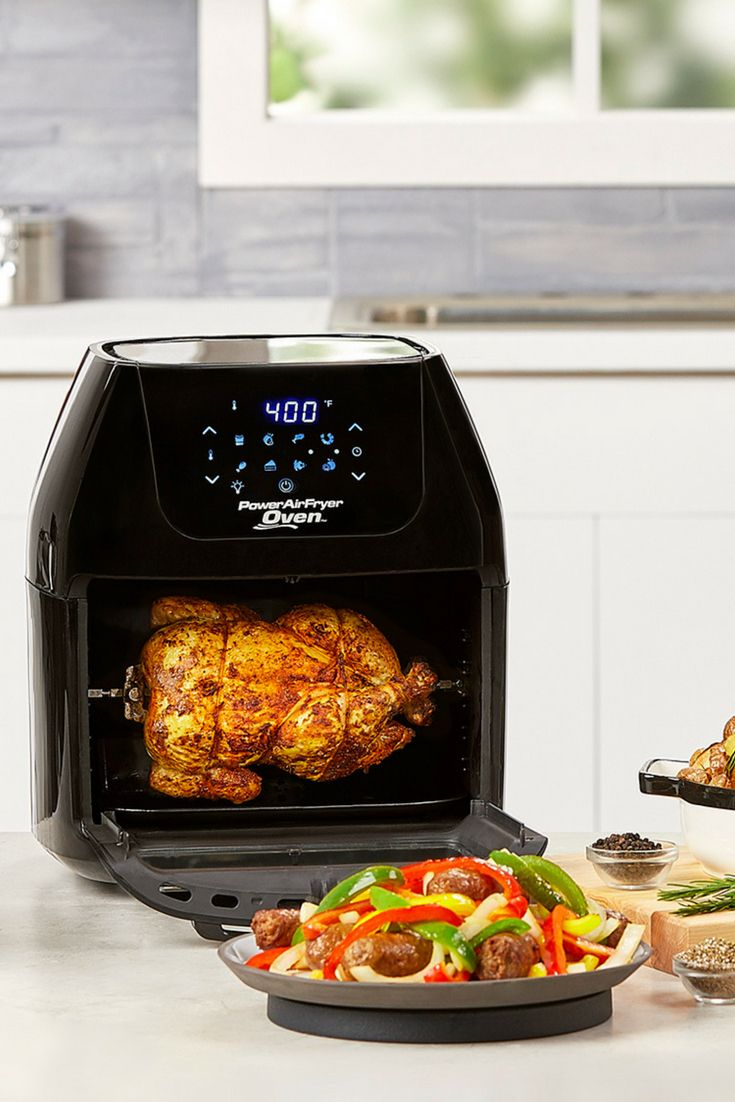 Rotisserie A Chicken In The Power Airfryer Oven Make The Juiciest