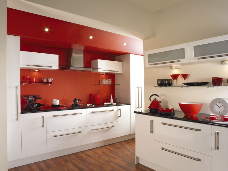 Red Kitchen Ideas Pictures