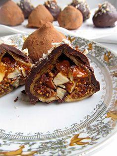 Постигая искусство кулинарии... : Конфеты-трюфели из инжира