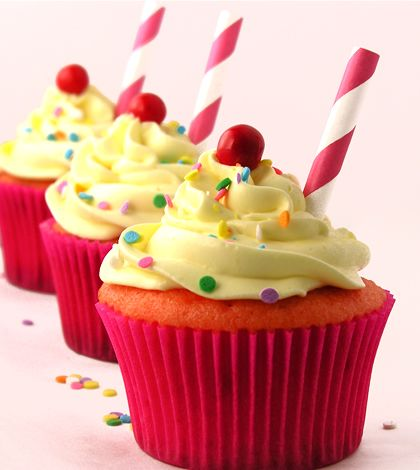 Receita de Cupcake caseiro