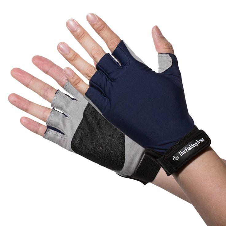 53 best gloves for fishing sun protection images on for Fingerless fishing gloves