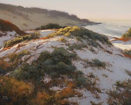 Brian Blood - Spring at Cypress Point- Oil - Painting entry - October 2016   BoldBrush Painting Competition