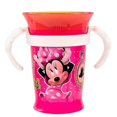 Enjoy the weather while drinking from the Sassy Minnie Grow Up Cup