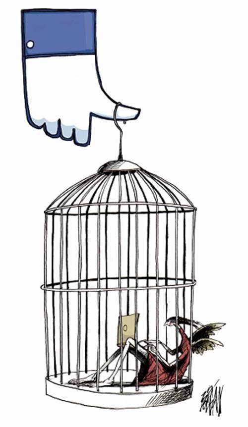 """Boligán, """"Prisioneros del me gusta"""", periódico El Universal, México, 1 de junio del 2014."""