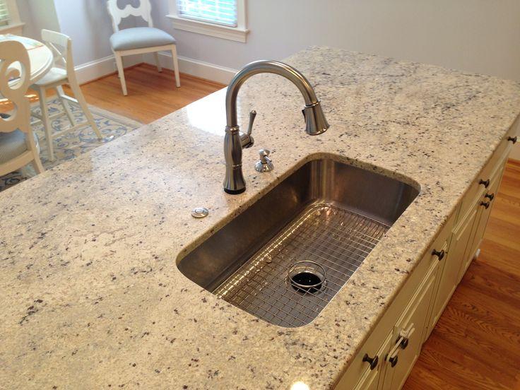 Kohler Kitchen Undertone Undercounter Stainless Steel 31 5x17 75x8 0 Hole Single Bowl Kitchen Sink K 3183 Na Sink Sink Top Interior Design Living Room