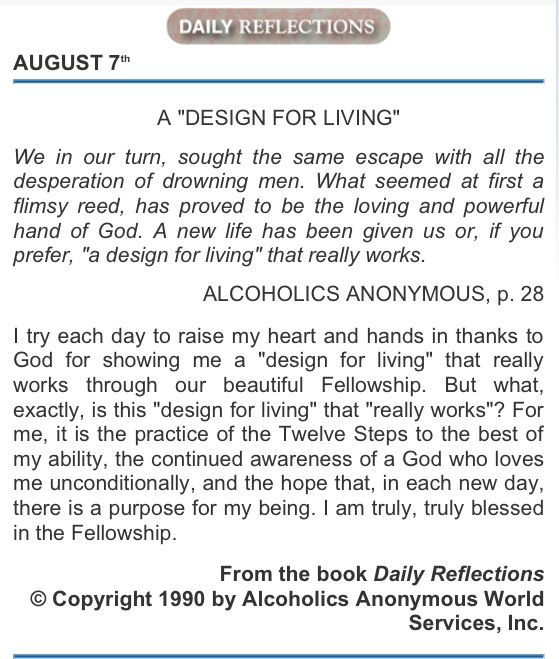 126 best daily reflections aa but for the grace of god there go changes in my life using the twelve steps has been a blue print to living malvernweather Gallery