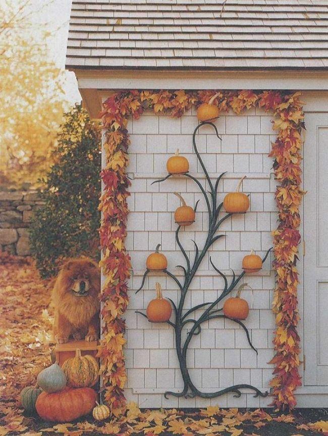 thanksgiving outdoor decor thanksgiving day outdoor decoration advice spread decor halloween decorationshalloween ideasfall - Fall Outdoor Decorating Ideas