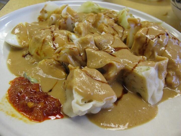 Siomay peanut sauce