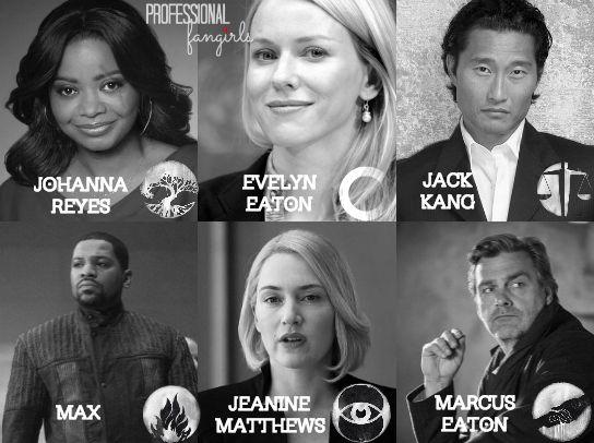 Divergent Cast: New Faction Leaders Revealed for 'Insurgent'~Divergent~ ~Insurgent~ ~Allegiant~