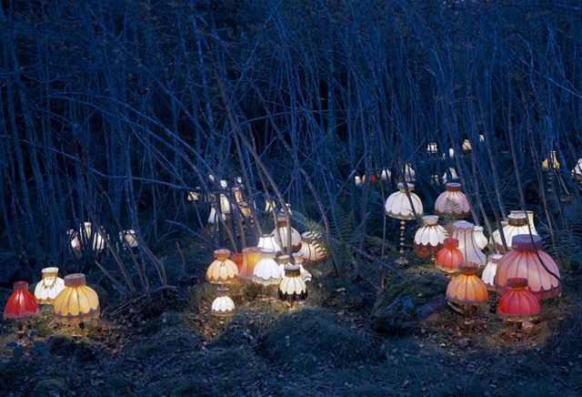 Norwegian artist Rune Guneriussen's installations are straight out of a magical fairytale.