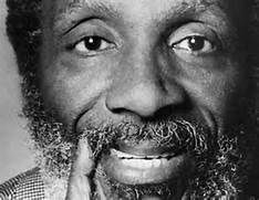 Dick Gregory - civil rights activist, social critic, writer, entrepreneur, and comedian