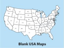 Best FreeUSandWorldMapscom Images On Pinterest World Maps - Us map blank worksheet