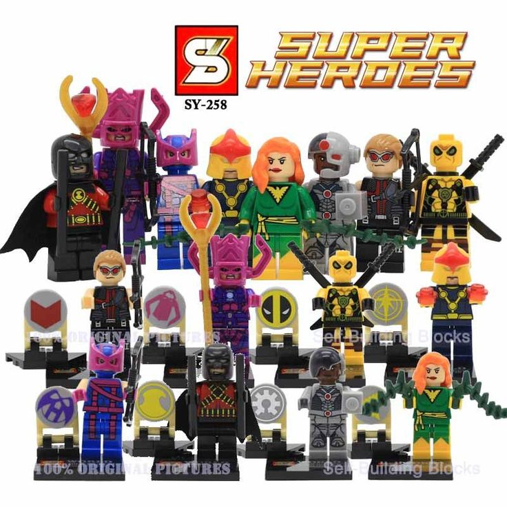 Marvel Super Heroes Action Figures Legoes Minifigures Building Blocks Civil War X-Men Captain America Hulk Deadpool Iron Man