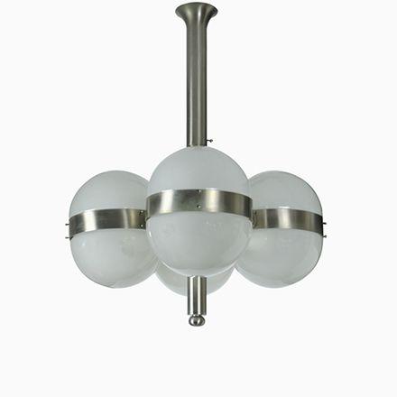 Mid-Century Tetraclio Hängelampe von Sergio Mazza für Artemide, 1963 Jetzt bestellen unter: https://moebel.ladendirekt.de/lampen/deckenleuchten/deckenlampen/?uid=14258105-688d-528c-9e10-b46e1ad88001&utm_source=pinterest&utm_medium=pin&utm_campaign=boards #deckenleuchten #lampen #deckenlampen