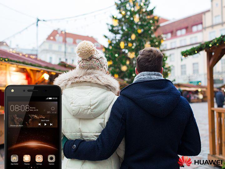 Mesaje pentru stabilit locul de intalnire, poze cu luminitele din oras si cu prietenii pe care ii revezi de Sarbatori. Foloseste la maximum smartphone-ul tau Huawei Y5II, apoi pune-l pe silent si bucura-te de moment. #DigitalGuruShop
