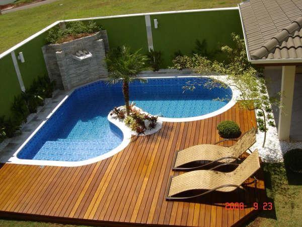 25 melhores ideias de piscina de alvenaria no pinterest for Modelos de piscinas campestres