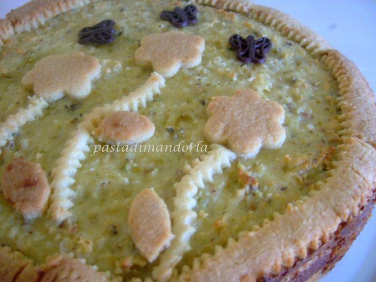 TORTA DI MANDORLE E PISTACCHI #GialloBlogs