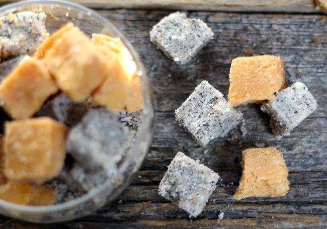 Three DIY Fall Scented Sugar Scrub Cube Recipes