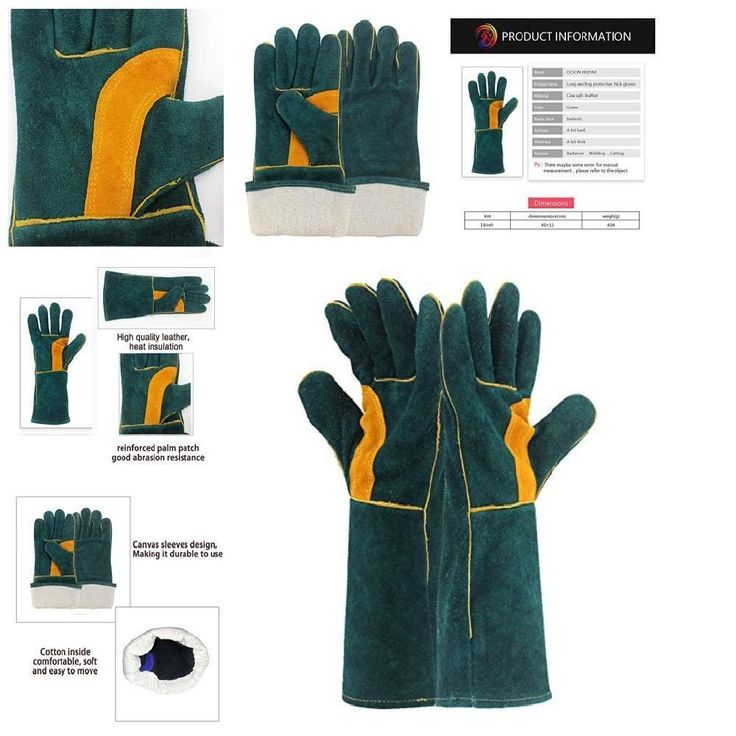 New Resistant Extreme Heat Leather Welding Gloves Wear Tig Nktm Premium Durable #OLSONDEEPAK
