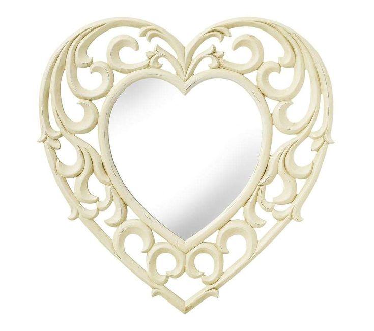 AMELIA Heart Mirror No description http://www.MightGet.com/february-2017-2/amelia-heart-mirror.asp