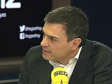 """Pedro Sánchez: el acuerdo con Ciudadanos es una """"condición necesaria"""""""
