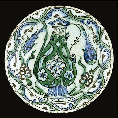 An Iznik polychrome dish, Turkey, 17th century   Lot   Sotheby's