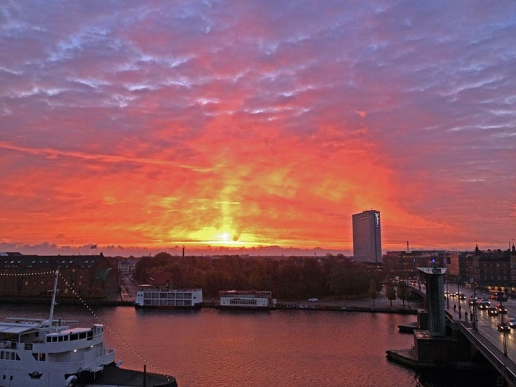 The View from The Balcony | Carstens Guest House COPENHAGEN | www.carstensguesthouse.dk