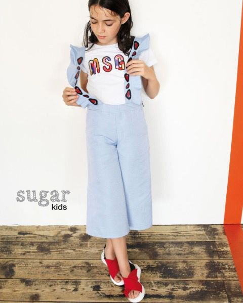 Bianca from Sugar Kids for MSGM Kids.