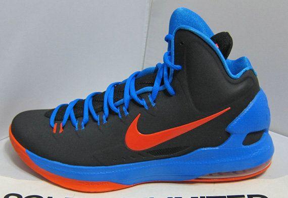 Shopping Nike KD 7 Cheap sale Black Photo Blue Team Orange