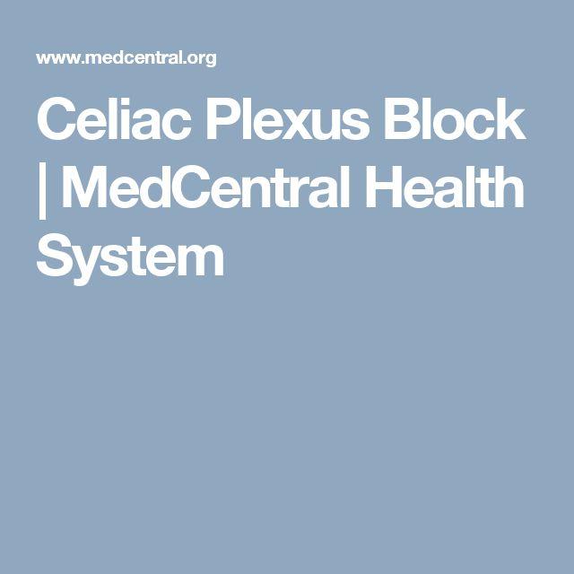 Celiac Plexus Block   MedCentral Health System