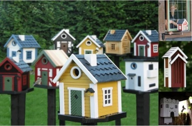 Nesting Boxes & Bird Feeders - Perfect gift for any agegroup