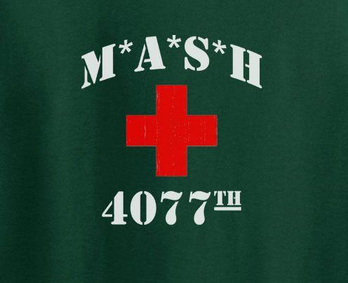 Mash 4077 group hospital cross logo T-Shirt Tee