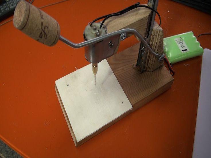 Mini taladro para manualidades | Experimentos Caseros
