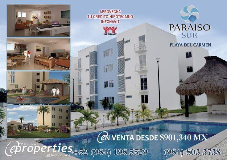 Excelentes departamentos en venta disponibles en Playa del Carmen. #BienesRaicesQuintanaRoo #PlayadelCarmen