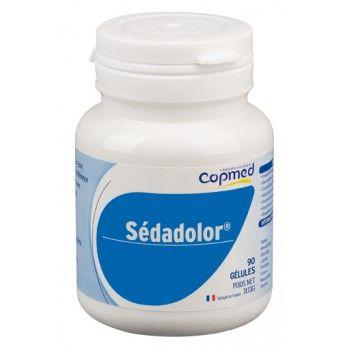 Sédadolor® Complément alimentaire à base d'huile de poisson, d'extraits de soja et d'avocat, d'acide alpha lipoïque et de manganèse.  Contribue au maintien d'une ossature normale et à la formation normale de tissus conjonctifs, grâce au manganèse.