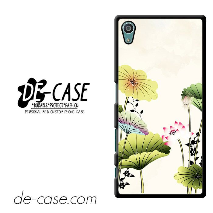Vinteage Lotus Flower DEAL-11746 Sony Phonecase Cover For Xperia Z5